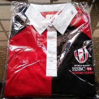 BNIB HSBC 7 Series Rugby T-Shirt (Both Man & Women)