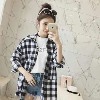 Checkered tops(Reduced)