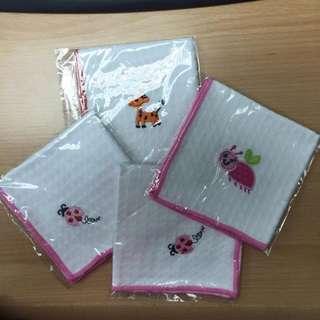 (清貨 - 最後四條) 蜂巢紗手巾 (HK$20 / 4條包郵)