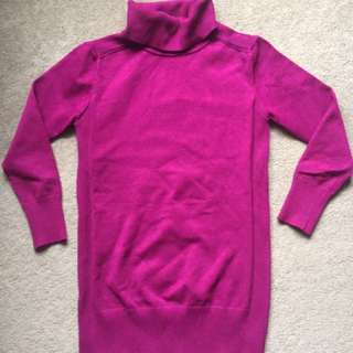 Violet Turtle Neck Knit