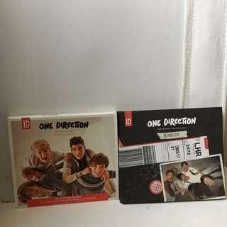 ONE DIRECTION ALBUM + DVD