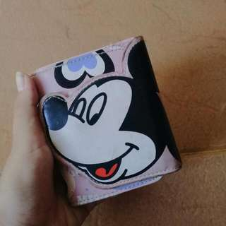 Mickey Wallet Pink