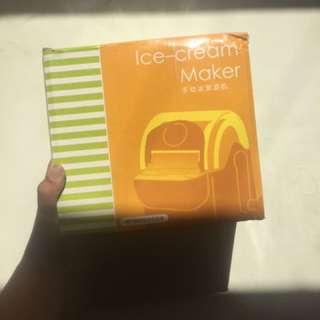 Ice cream maker manual