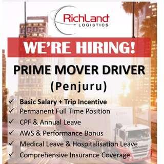 Prime Mover Driver (Penjuru)
