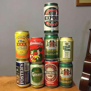 Assorted can drinks