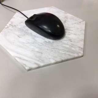 大理石滑鼠墊