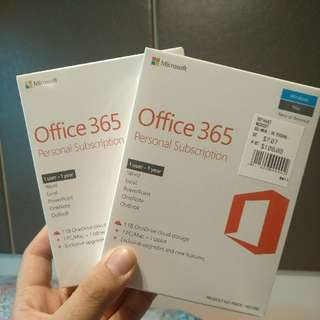 Office 365 Personal Subscription (1 Year)
