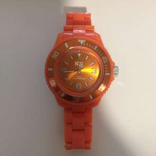 ICE brand watch orange