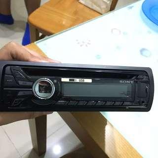 Sony 汽車車機 USB AUX