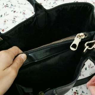 Zara structured handbag