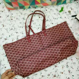 Goyard Large Tote (Not authentic)