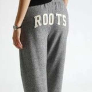 NEW PRICE! Roots Salt and Pepper Youth Sweat pants