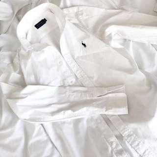 Polo Shirt // White