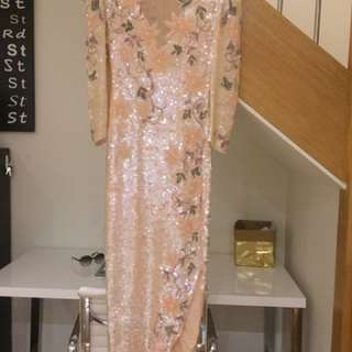 Stunning hand made size 8 dress