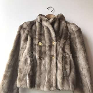 Juicy Couture Youth Faux-fur coat