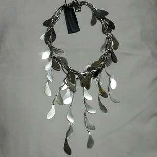 BCBGMAXAZRIA Silver Necklace