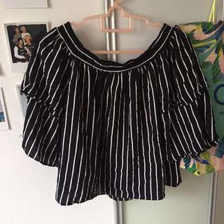 Nichii Black Stripes Layered Sleeves