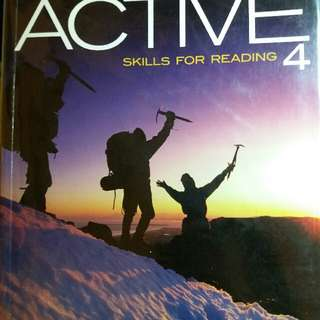 Active4 - skills for reading#出清課本
