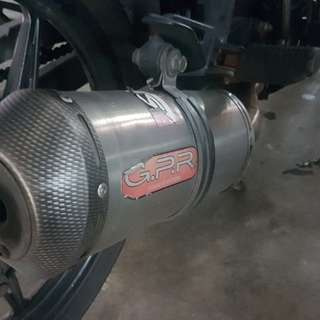 GPR pipe / exhaust for spark 135