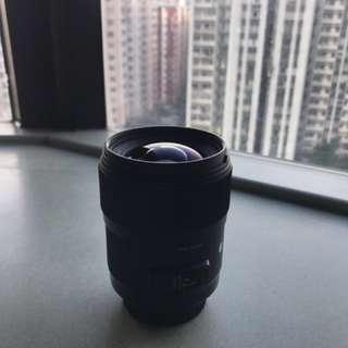 Sigma 35mm 1.4 Art Lens (Canon Mount)