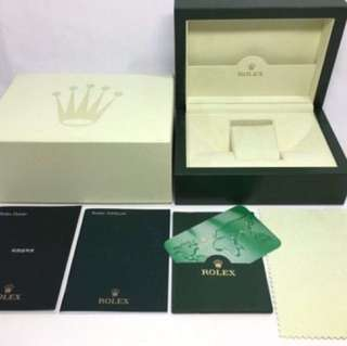 Absolutely Genuine Rolex Box absolutely authentic