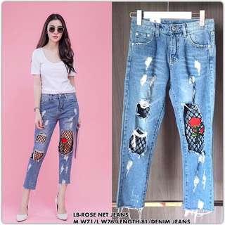 Jeans handcarry bangkok size L