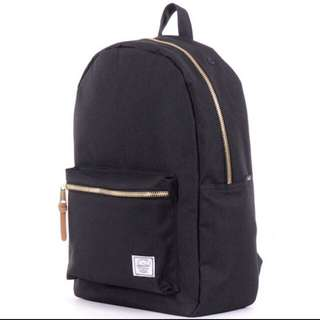 Herschel Settlement Black Gold Zip, 23L