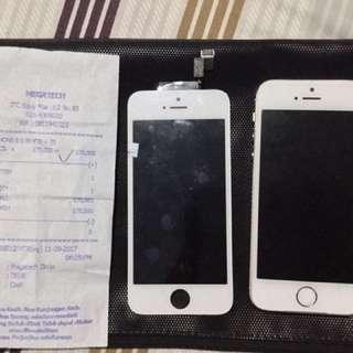 Iphone 5s gold (ic touchscreen rusak)