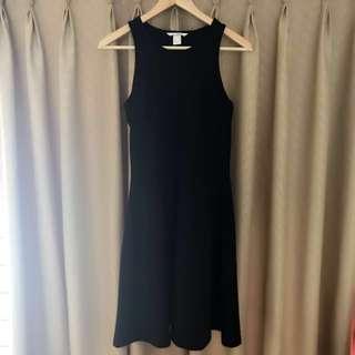 NEW H&M black dress