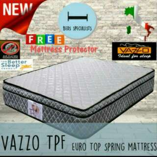 """10"""" Matress👌👌👌with Free 2 Pillows and mattress protector. Sale! Sale! Sale! Delivery At Your Doorstep.💕"""