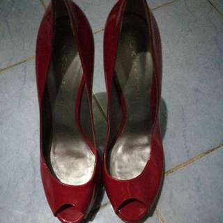 Casadei heels patent red made in italy