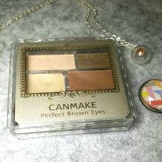 CANMAKE 咖啡癮眼影盤03