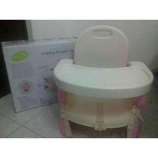 Folding Booster Seat Pink Lucu #BabyFashionSale