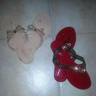 Ladies size 7.5/8 Gucci&Michael Kors Sandals