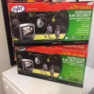 2 SVAT Wireless Outdoor Security Surveillance System