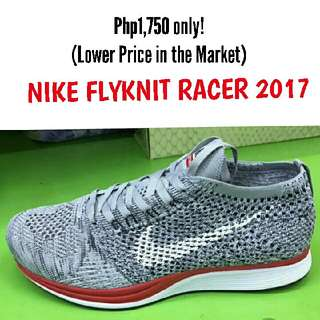 beee75e4ffb64 NIKE FLYKNIT RACER 2017 (for her) Php1
