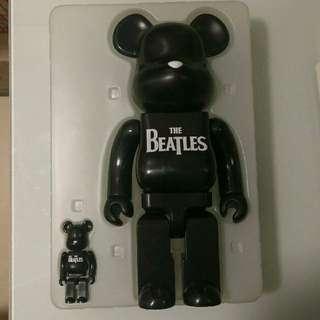 Medicom Bearbrick Beatles 100% and 400% 2006 Be@rbrick