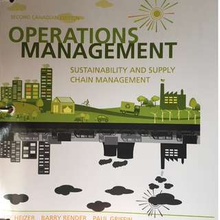FARE 3310: Operations Management