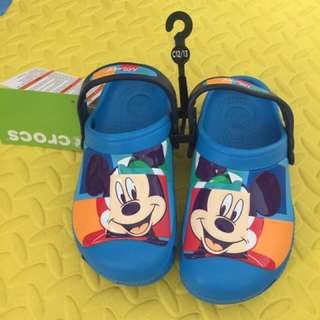 authentic crocs mickey colorblock
