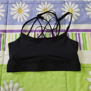 H&M Black Sports Bra