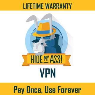 HideMyAss VPN [Lifetime]