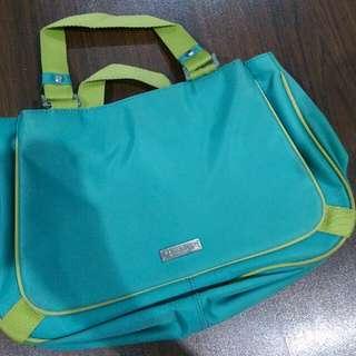 Kenneth Cole Reaction Aqua Blue Shoulder Bag