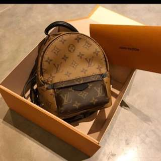 💯% Authentic LV Palm Spring Mini Backpack/ Crosssbody (Reserved)