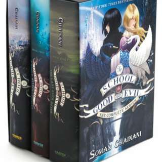 Soman Chainani's School For Good And Evil Boxset