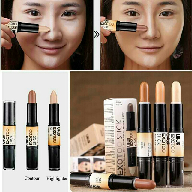 2 in 1 NYX Wonder Stick Face Highlight & Contour, Health & Beauty, Makeup on Carousell