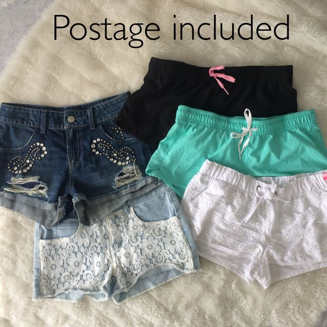 5x XS Guess & Billabong Shorts pack postage included