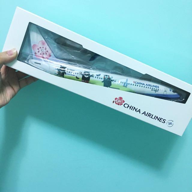 華航 限定熊本熊飛機模型