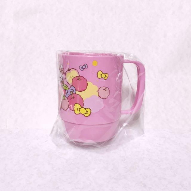 三麗鷗 hello kitty 冷水杯 漱口杯