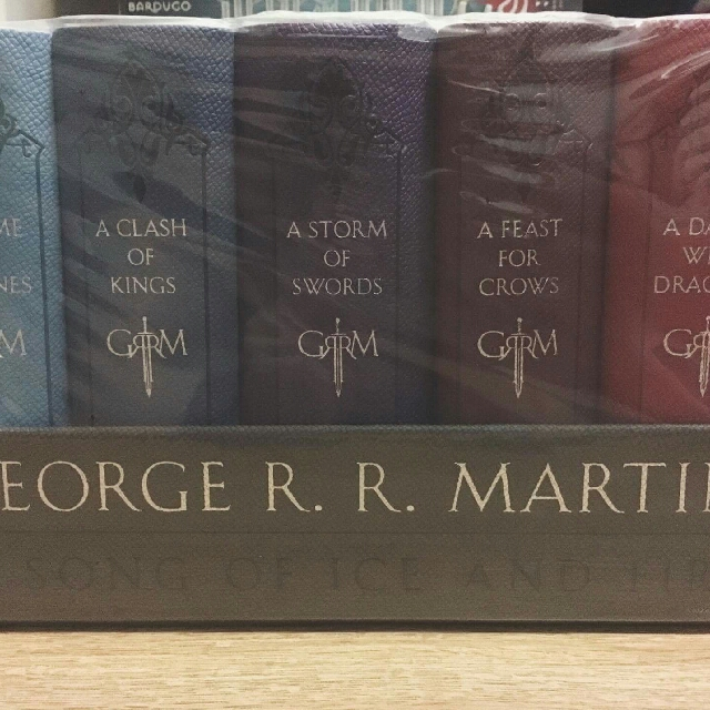 A Song of Ice and Fire Leatherbound Set (Game of Thrones)