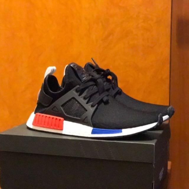 huge selection of 1c815 533cd Adidas NMD XR1 PK OG Black Red blue BY1909, Men's Fashion ...